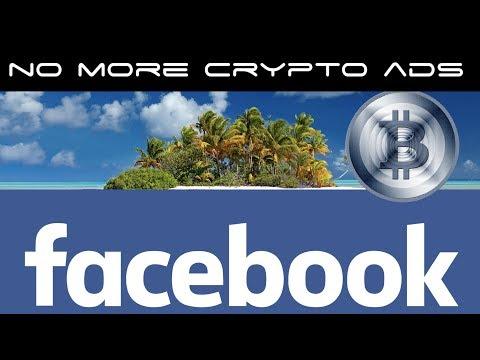 Facebook Bans Bitcoin Crypto Ads and ICO's
