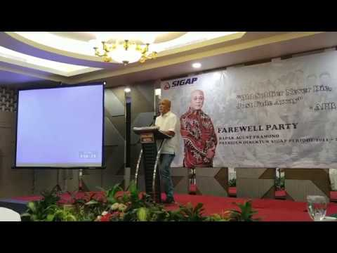 Farewell Party Bpk Agust Pramono