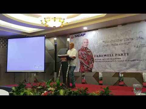 Farewell Party Bpk Agust Pramono