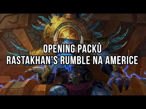 Opening Rastakhan's Rumble packů na Americe