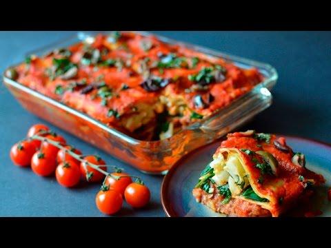 Best Vegan Lasagna - Tons of Veggies!! (Soy Free)