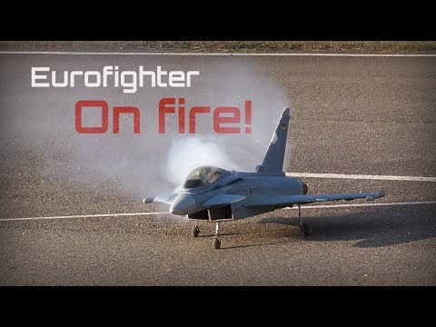 rc-eurofighter-lipo-catches-fire-in-midflight---hd-50fps