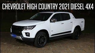 Avaliação: Chevrolet High Country 2021 Diesel 4x4