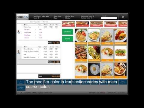 Video Focus Restaurant POS