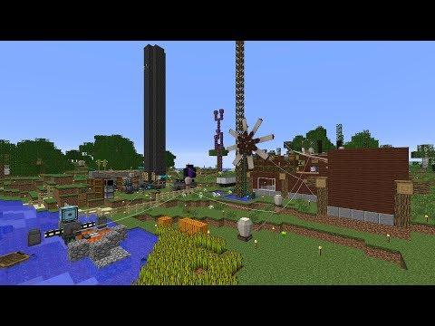 Moddovaný Minecraft - Energie!