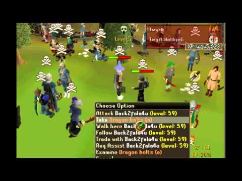 ★[RuneScape] Fin ITIaul bh vid 2 |G maul/C bow/D bow/Combos!| Pure pking★