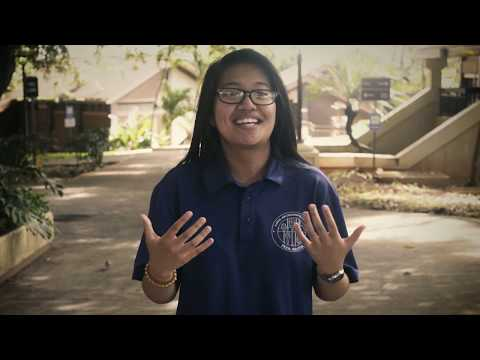 Who at Kapiʻolani Community College helped you succeed?