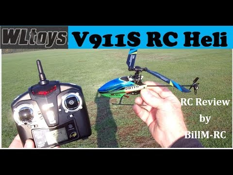 WLToys V911S review & Maiden flight