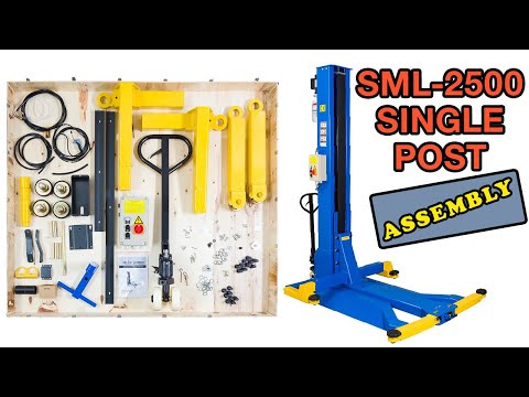 How To Assemble E4G SML-2500 Mobile Single Post