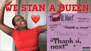 Ariana Grande - thank u, next (audio) REACTION