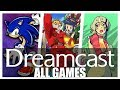 All Sega Dreamcast Games In One Video