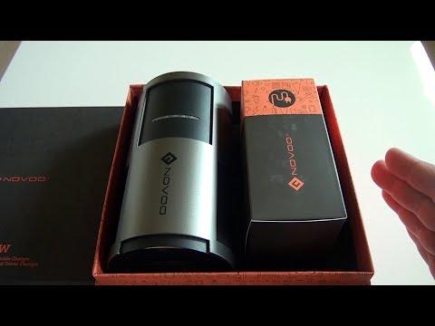 Batterie externe Novoo 20100mAh avec prise AC 220 V !