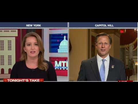 NBC's Katy Tur Sends GOP Rep. Dave Brat Into A Crazy Conspiratorial Melt Down With Facts