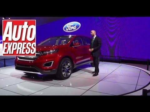 Ford Edge Concept - LA Motor Show 2013