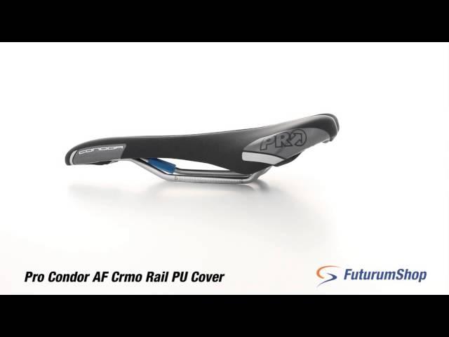 Видео Седло Pro Condor CrMo Anatomic Fit 142mm черное