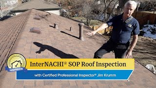 How to Perform a Roof Inspection According to the InterNACHI® SOP
