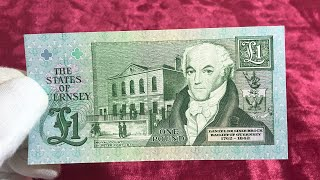 Guernsey one pound banknote