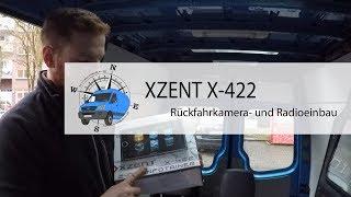 Xzent X-422 Autoradio/ 2-DIN Infotainer Einbau in den Mercedes Sprinter