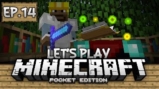 Survival Let's Play Ep. 14 - Enchanting Gameplay 0.12.0!!! - Minecraft PE (Pocket Edition)