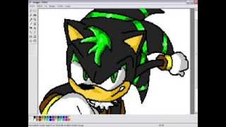 How to draw Zero Chaos The Hedgehog