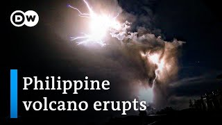 Philippine volcano eruption: How dangerous is it? | DW News