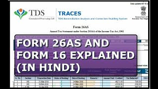FORM 26 AS & FORM 16 EXPLAINED