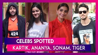 Celebs Spotted: Kartik Aaryan, Ananya Panday, Sonam Kapoor, Shahid Kapoor & Others Seen In The City