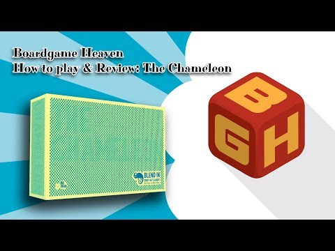 BGH Unboxing, How To Play & Review: The Chameleon
