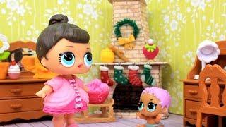 LOL Surprise Куклы ЛОЛ Мультик Игрушки ПИСЬМО ДЕДУ МОРОЗУ Сюрпризы для детей с Лалалупси Вероника