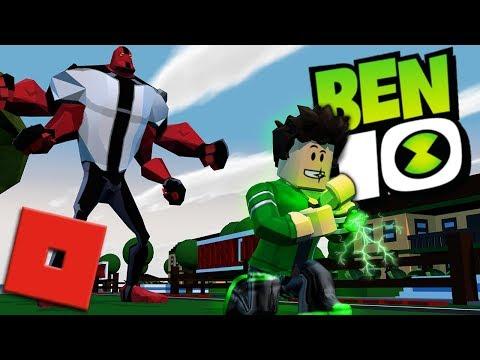 BECOMING BEN 10 IN ROBLOX - PART 2