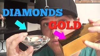 GOLD vs. DIAMONDS (What should you buy?)