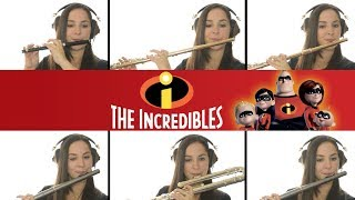 The Incredibles Theme on Flute + Sheet Music!