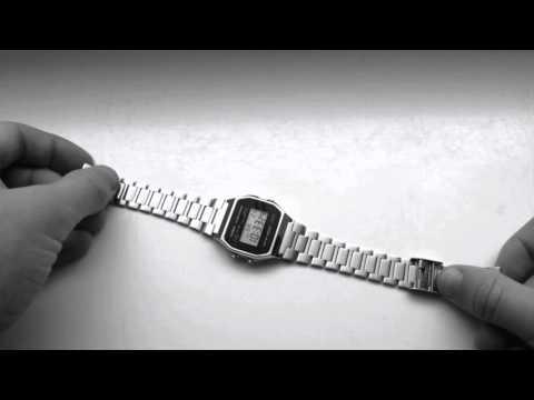 Casio Uhr Armband-Größe schnell und einfach verstellen
