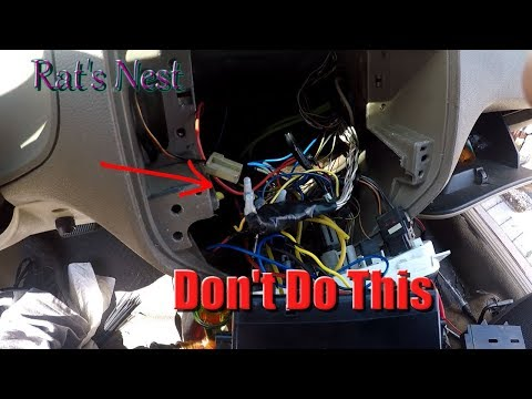How To Clean Out A Rat's Nest In The Dashboard Of Your Car