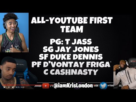 FlightReacts at PG? Cash at C?! LMFAO! Official Youtuber Basketball Awards Reaction