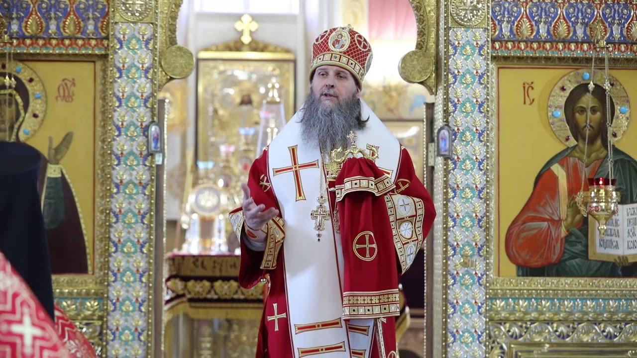 Литургия в неделя 5-ю по Пасхе, о самаряныне. Проповедь митрополита Даниила