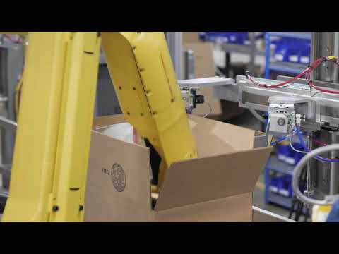 Robotic Forming of Bottle Ready Cases