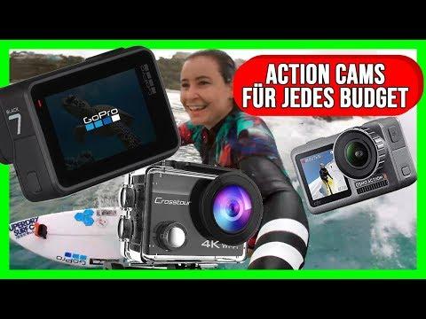 DIE 5 BESTEN ACTION KAMERAS - Action Cam Review Test Vergleich Deutsch 2019