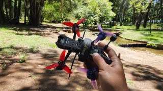 Cinematic flight in Taquaral Park - Iflight DC3 e DJI Digital Fpv System