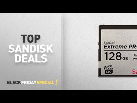 SanDisk Black Friday Deals: SanDisk Extreme Pro CFAST 2.0 128 GB 525 MB/s VPG130