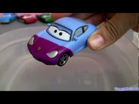 Carros Sally Color Changers Disney Pixar Video Dublado Em Portugues Carro Muda De Cor Com Agua