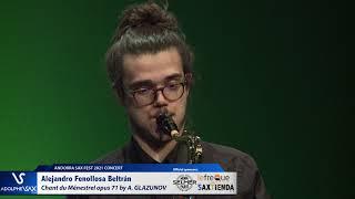 Alejandro Fenollosa Beltrán plays Chant du Ménestrel opus 71 by Alexander GLAZUNOV