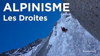 Voie Ginat Jackson Face Nord des Droites Chamonix Mont-Blanc alpinisme montagne