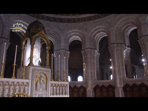 Prière du Milieu du jour du 8 octobre 2021 des Bénédictines du Sacré-Coeur de Montmartre