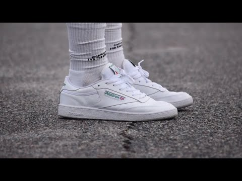 REEBOK CLUB C 85 (White/ Green) REVIEW + ON FEET