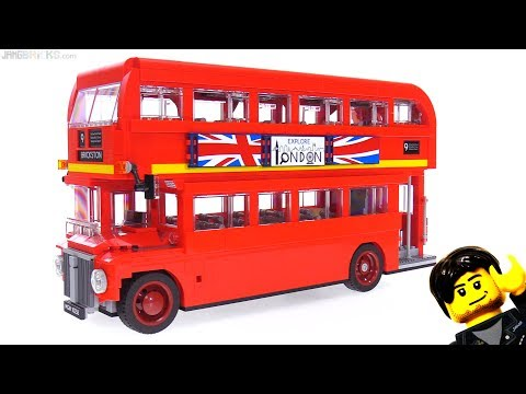 LEGO Creator (large-scale) London Bus review! 10258