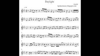 [Sheet Music / 楽譜] Arashi / 嵐 Daylight