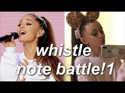 Emery Bingham Vs Ariana Grande In Whistle Notes