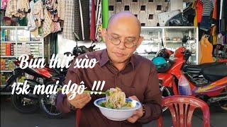 """Food for good #304: """"Tắt đài"""" ăn phải tô bún thịt xào Diễm chợ Mỹ Xuyên vì sao ?"""