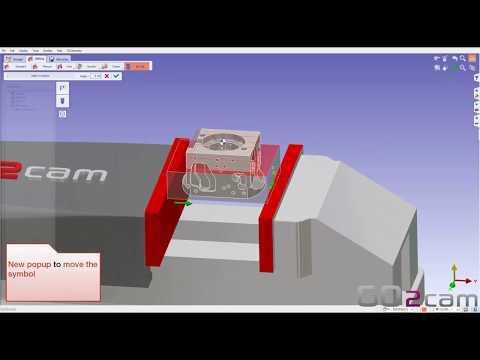 GO2cam V6.05 // Verwendung von Spannelementen